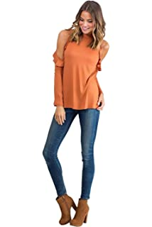 Camisas Hombros Descubiertos Mujer Casual Colores Lisos T Shirt Manga Corta Sin Tirantes Camiseta Cuello Barco