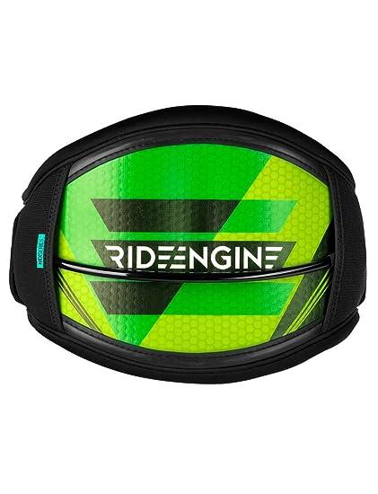 Ride motores hex-core Kiteboard Arnés Verde Pequeño: Incluye 10 ...