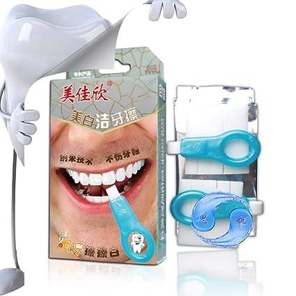 Kit de Nano Blanqueamiento Dental Profesional,Borrador de Dientes Teeth Whitening,para Eliminar El Sarro y ...