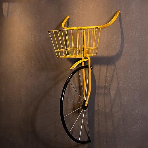 QBZS-YJ Viento Industrial Hierro Bicicleta Creativa Bar Cafe ...
