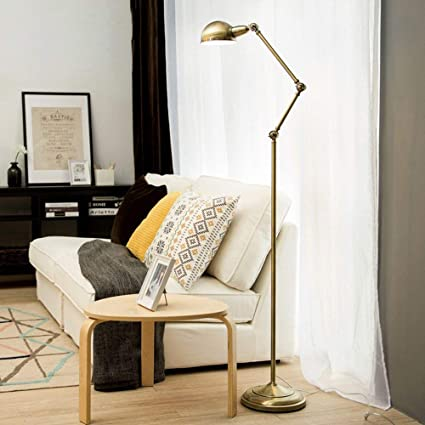 MJK Lampadaire, lampe de lecture oeil d\'étude Lampadaires pour salon ...