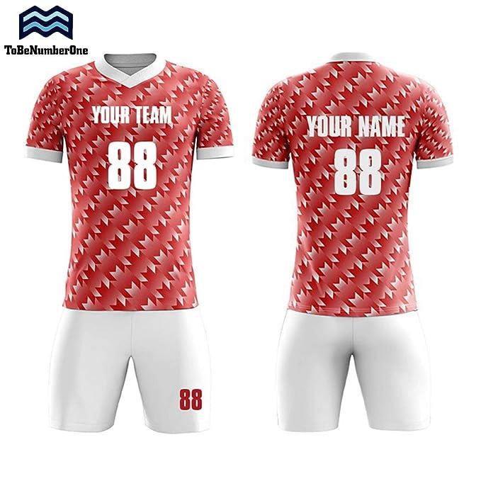 e7bc35e04 Custom Sportswear 2018-2019 Serbia Home Concept Ccustom Tteam Soccer Shirts  Set (S)