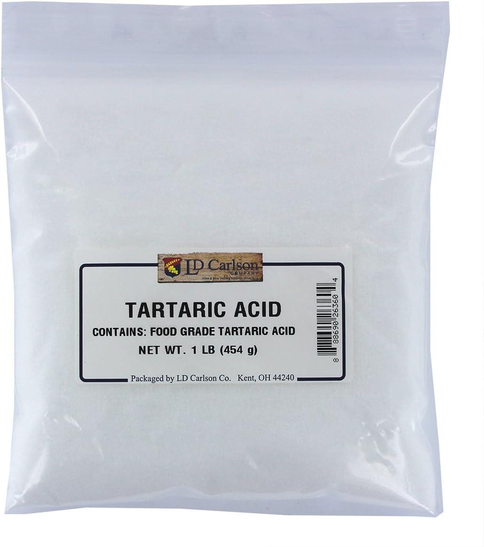 Tartaric Acid, One Pound