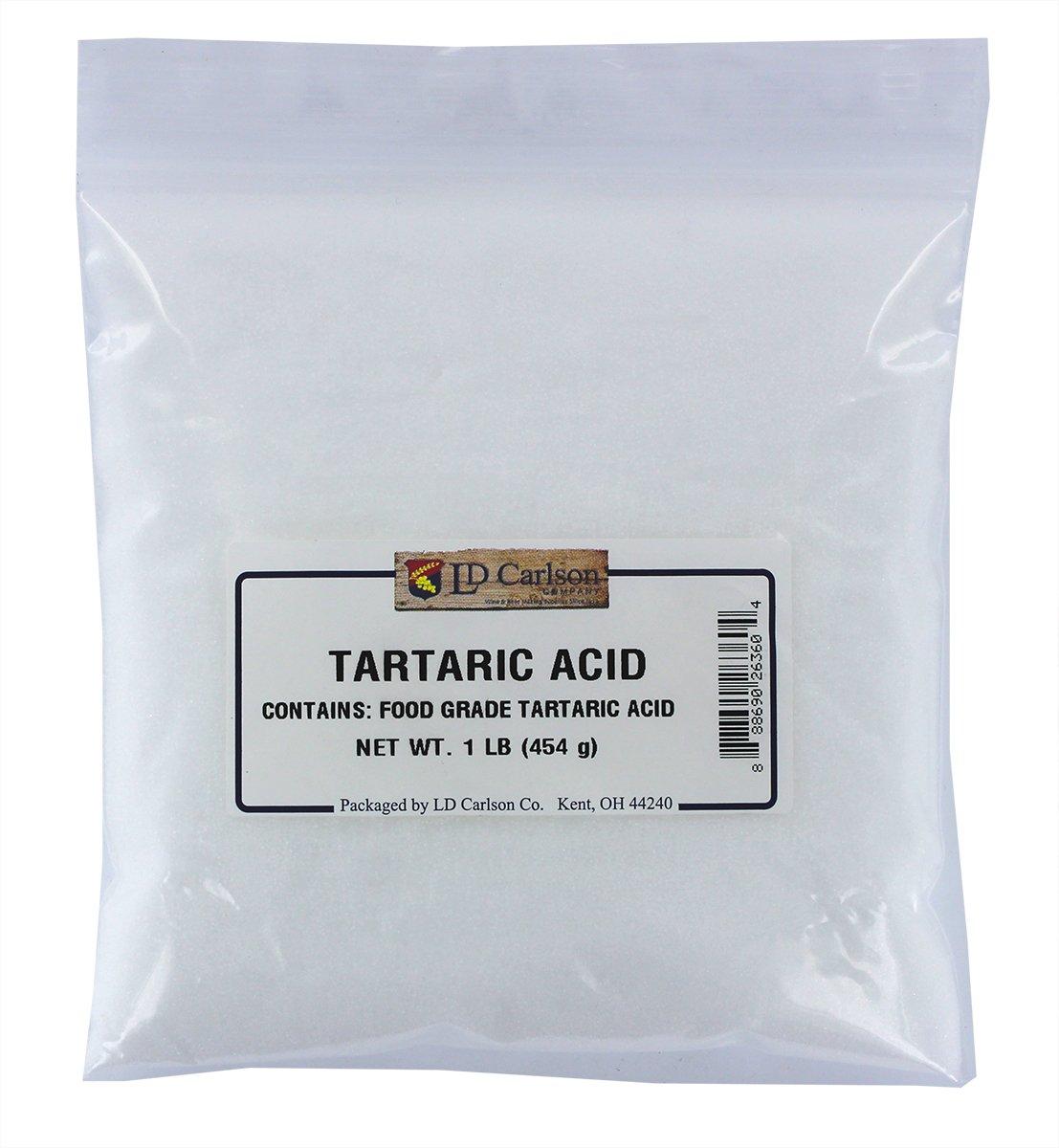 LD Carlson - Tartaric Acid - 1 lb