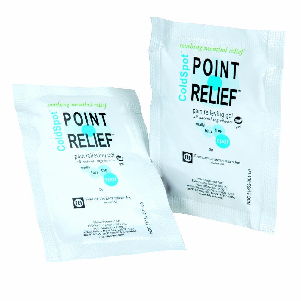 Point Relief 11-0740-100 ColdSpot Gel, 5 gram Dispenser (Pack of 100)