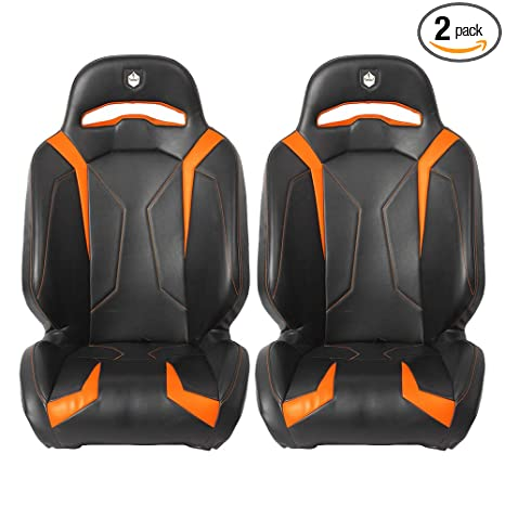 Phenomenal Pro Armor P141S188Or Le Orange Suspension Seat 2011 2019 Polaris Rzr Xp 1000 Turbo 4 S 2 Pack Theyellowbook Wood Chair Design Ideas Theyellowbookinfo