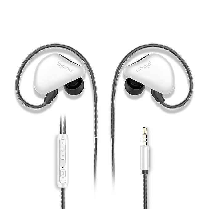 picun S6 deporte auriculares en oreja Auriculares con micrófono y ...