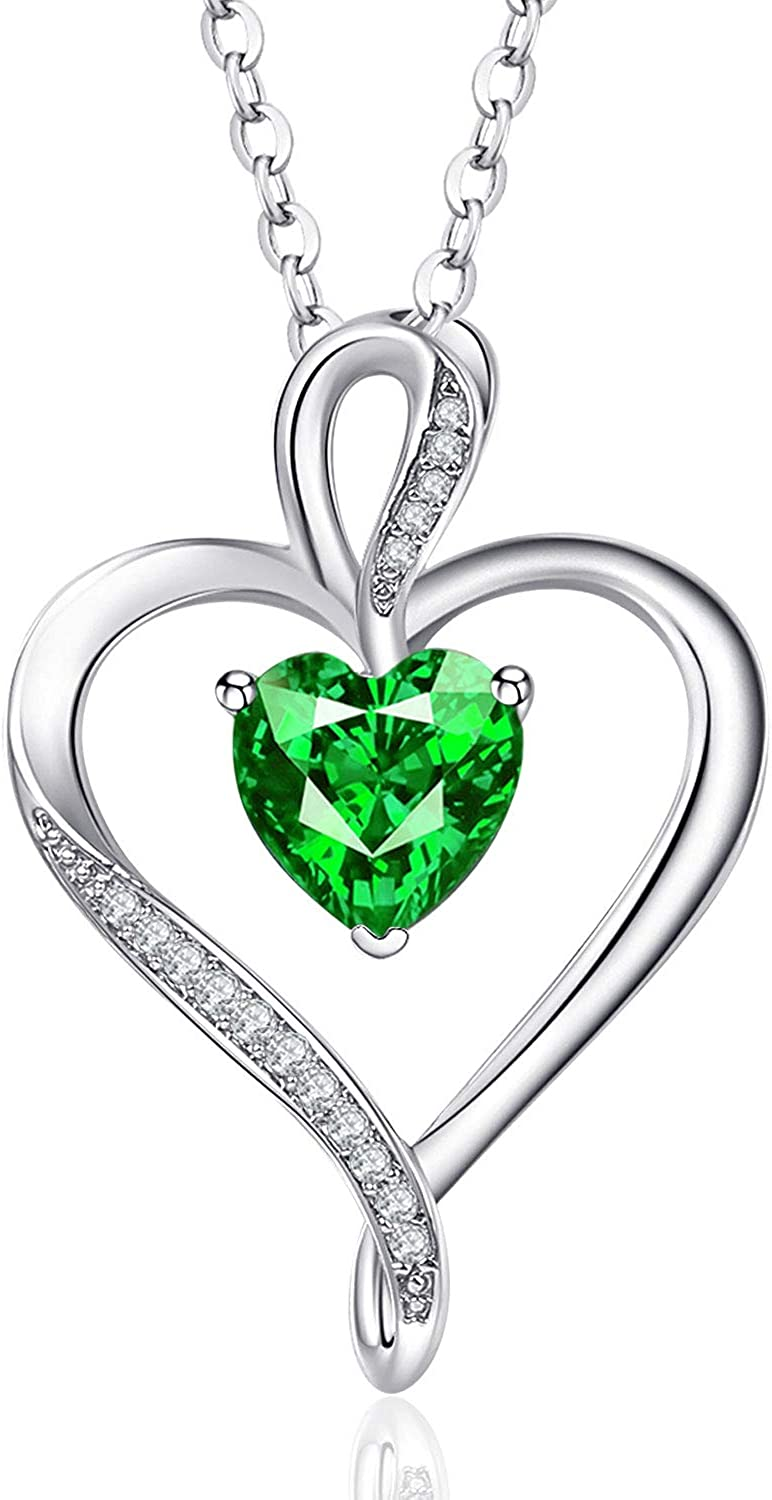 Perfect Memorial Dazzling Heart Key Sterling Silver Cremation Jewelry