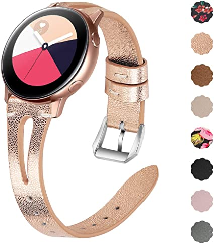 Amazon.com: EZCO Leather Bands Compatible with Samsung ...