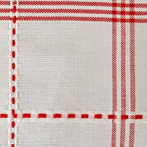 "DII 100% Cotton, Machine Washable, Dinner, Summer & Picnic Tablecloth 60x84"", Country Plaid, Seats 6 to 8 People"