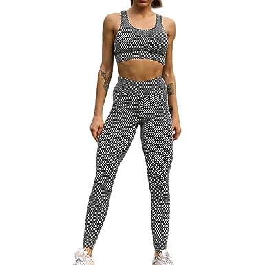 01d68d72c Women s Yoga 2 Pieces Fitness Sports Wear Set Yoga Workout Sports Bra Pants Leggings  Set Bra