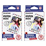 Fujifilm Instax Mini Airmail Film - DOUBLE PACKAGE! (20 Exposures)!!