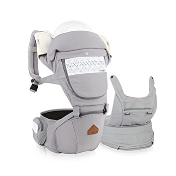 a8909f9e616 Amazon.com   I-angel Miracle Baby Carrier Hipseat Front Backpack Carrier  Ergonomic Design for Parents