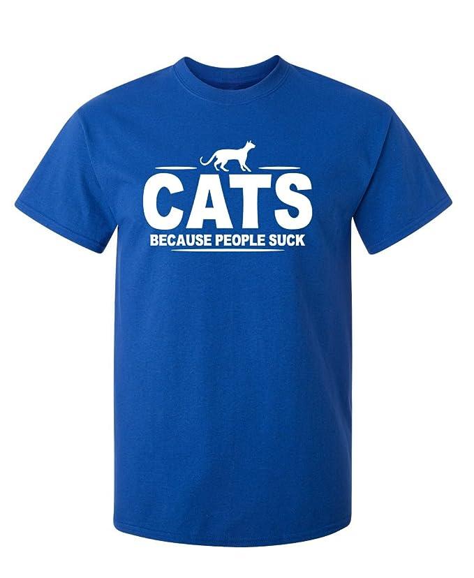 Amazon.com: Cats Because People Suck animales mascotas ...