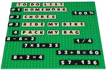 New - 1 x 2 Plate LEGO 3-Buck Bag Tile, Brick Lime 40-ea