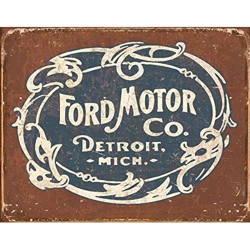 Vintage Auto Parts Sign Amazon Com