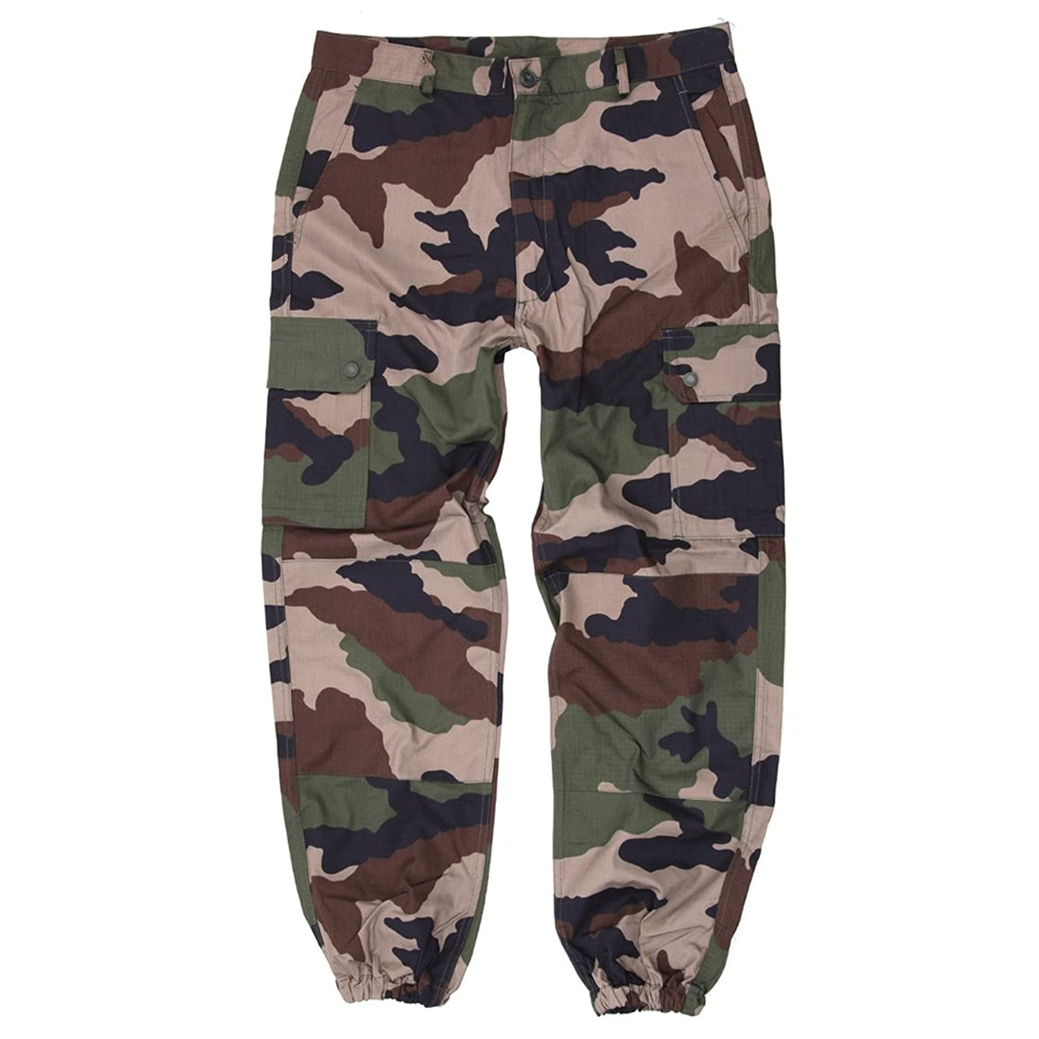 AlxShop Men's Trousers camouflage centre europe
