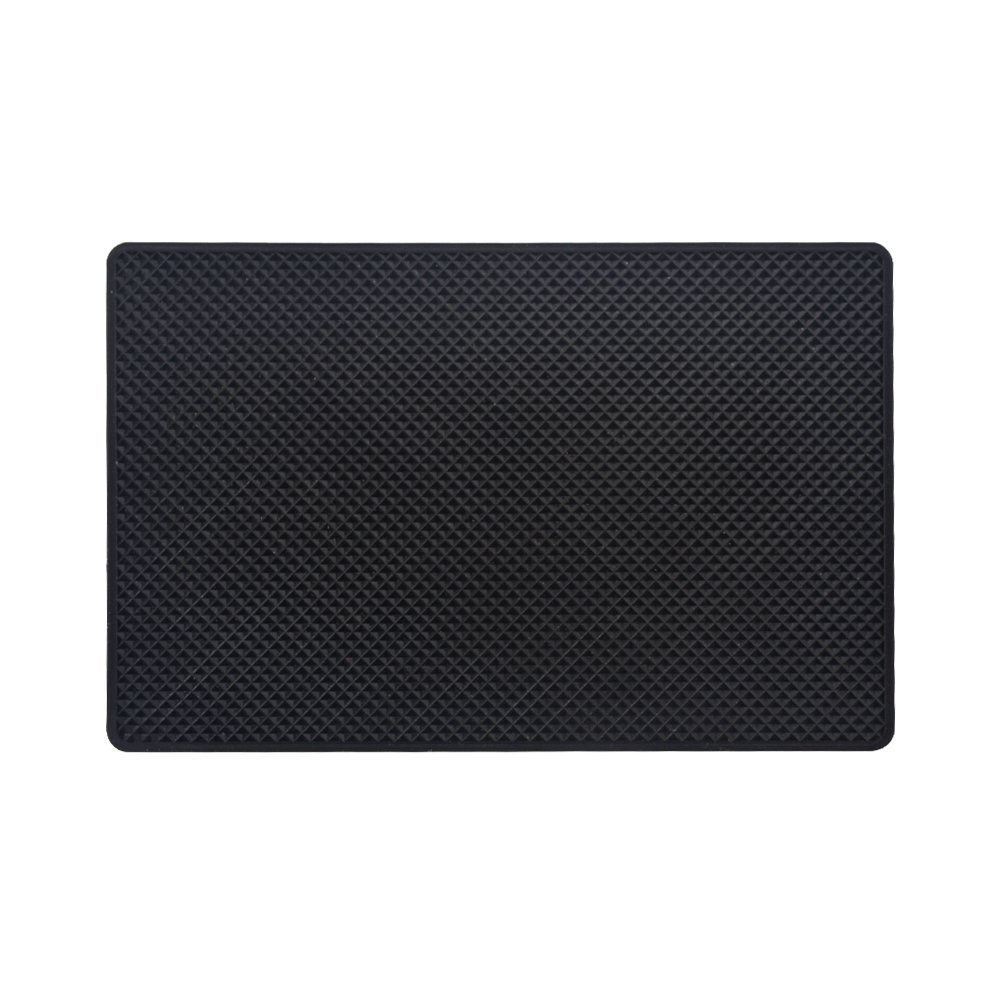 Extra Large Non-Slip Magic Anti-Slip Mat Mounted Slide-Proof Rug Pad Car Dashboard Magic Sticky Dash Adhesive Mat Cell Phone Holder - Black … (1)