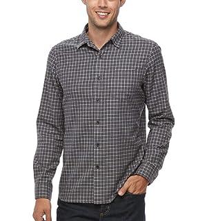 0f502adcb Apt 9 Men s Big   Tall Modern-Fit Plaid Brushed Flannel Button-Down Shirt