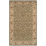 Blue Nile Mills Heritage 8′ x 10′ Green Area Rug, Contemporary Living Room & Bedroom Area Rug, Anti-Static and Water-Repellent for Residential or Commercial Use, 8-feet By 10-feet