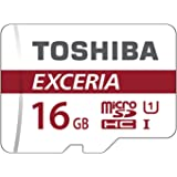 Toshiba Scheda di Memoria microSDHC 16GB - Exceria - 90MB/s - Classe 10 - UHS-I - U1 + Adattatore
