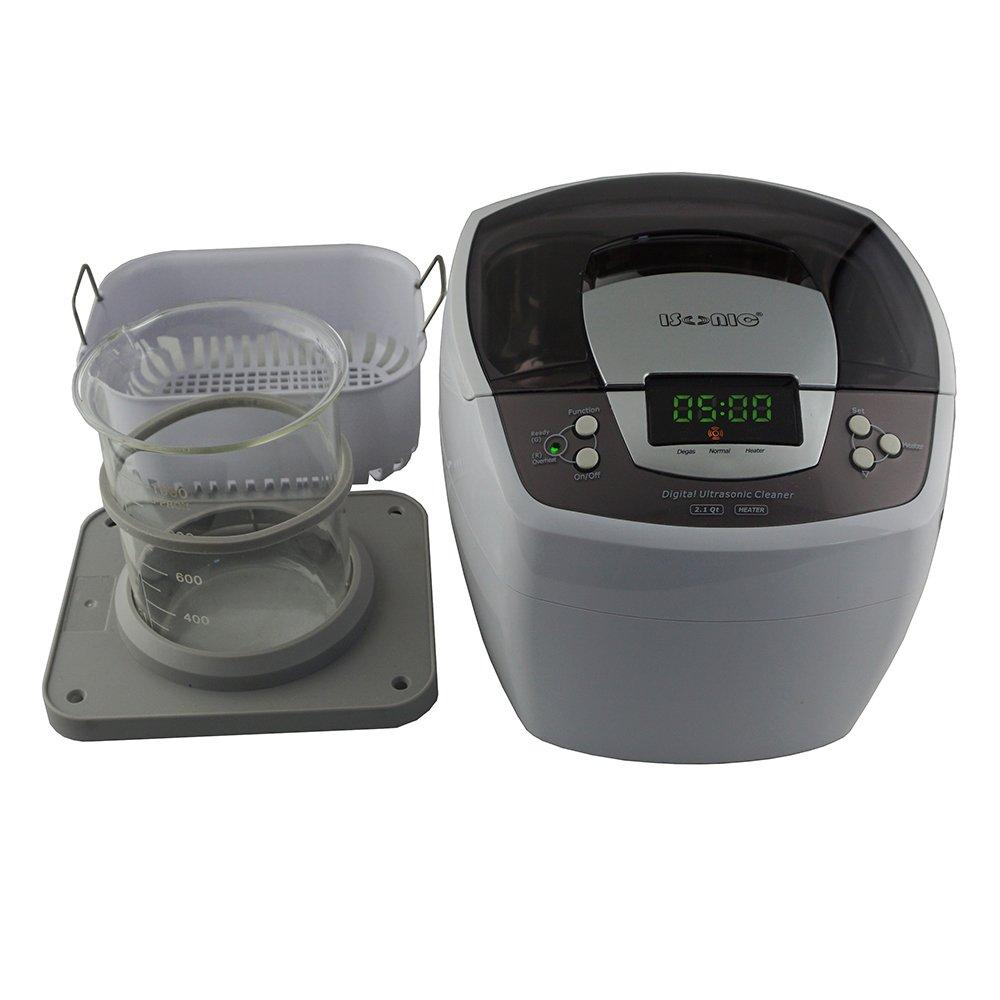 iSonic Ultrasonic Cleaner P4810, 2.1Qt/2 L, with 1000 ml Single Beaker Holder Set for DIY Liposomal Vitamin C by iSonic (Image #2)
