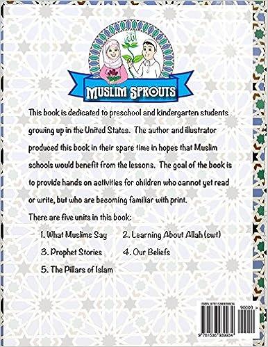 Muslim Sprouts Vol. A: A Preschool Textbook for Muslim Children ...