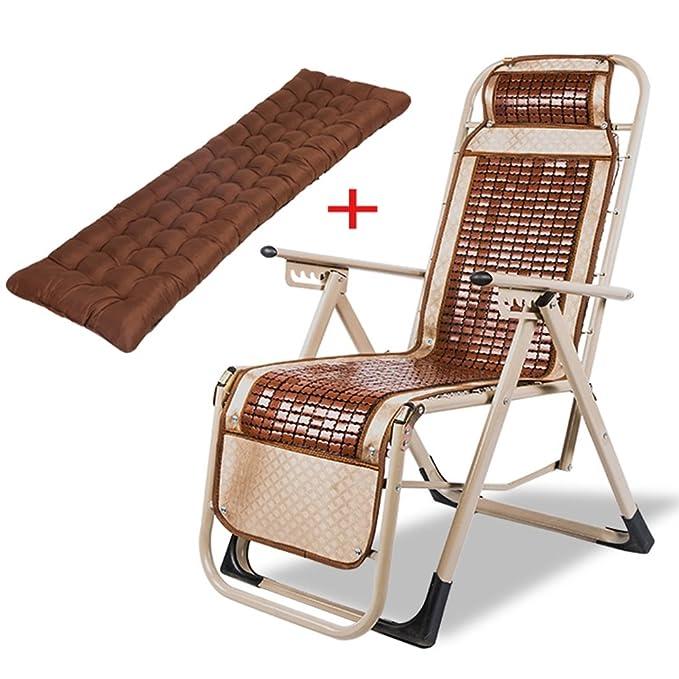 Amazon.com: Sillas de salón ZHIRONG reclinables de verano ...