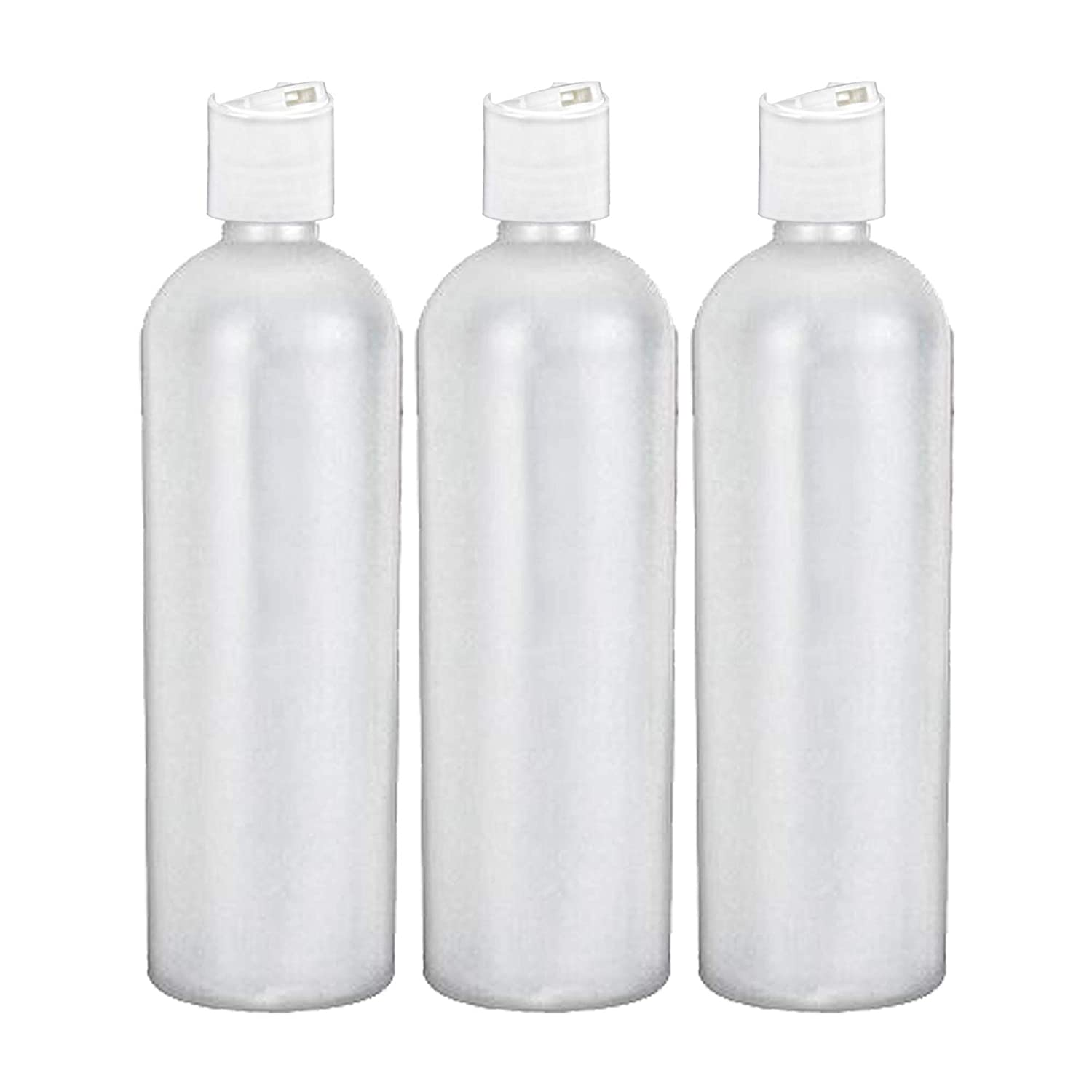 MoYo Natural Labs 16 oz Travel Containers, Empty Shampoo Bottles with Disc  Tops, BPA Free HDPE