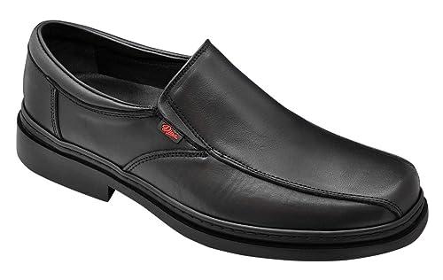 Dian Congreso - Zapato de trabajo hombre, talla 39, color negro