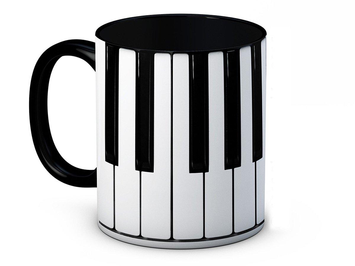 mug-tastic Clavier de Piano Musicien - Haute Qualité Tasse à Café en Céramique AMC Photographics