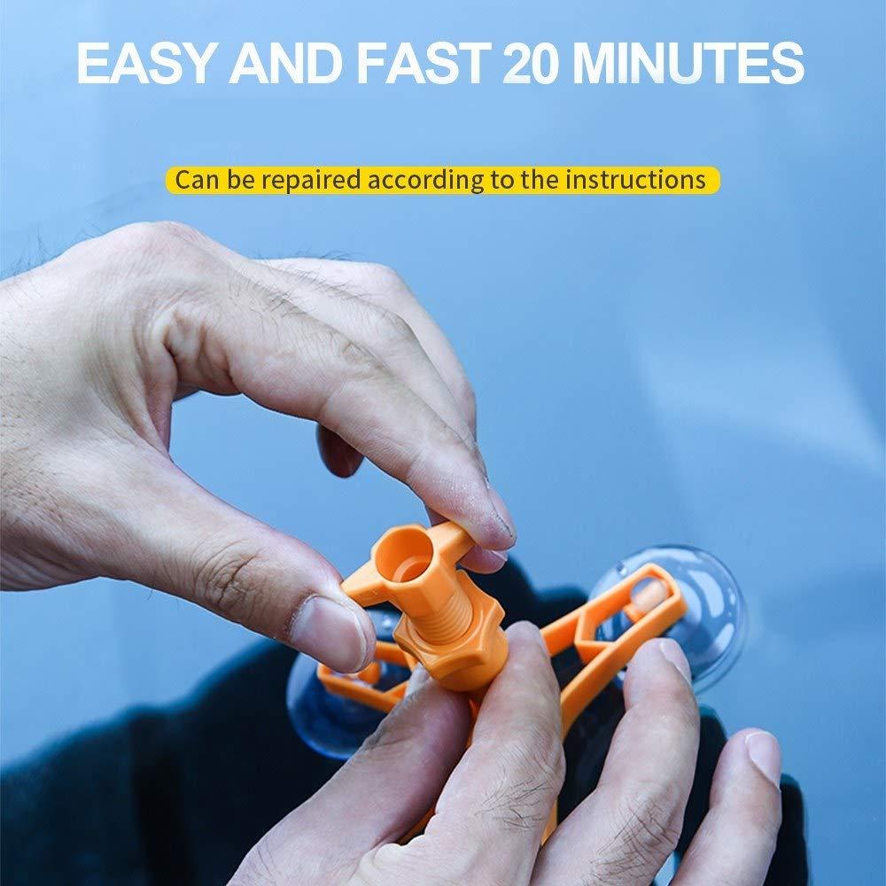 Accessori per Auto Forniture Accessori auto auto parabrezza dellautomobile riparazione del parabrezza Kit Auto Glass Restoration ripara lutensile,I re Hanno le Braccia Lunghe