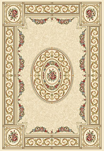 Dynamic Rugs Ancient Garden Ivory Oriental Aubusson French 6