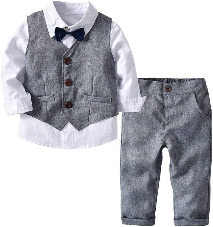 Conjunto de bebé, ❤️ Modaworld 4PC Camiseta de niño ...