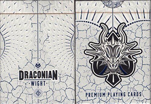Draconian WIGHT Playing Cards (Optical Illusions Card Playing)