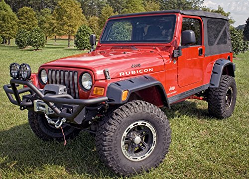 Outland 391163010 6 Piece All Terrain Fender Flare Kit for 97-06 Jeep TJ Wrangler