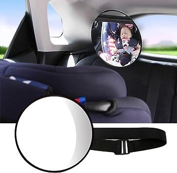 Coeffort 17 X 17 Cm 1 Piece Baby Back Ward Infant Care Car Safety Back Seat Mirror Safety Children Monitor Car Baby Mirror Küche Haushalt