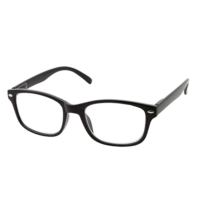 817ce7d300 Multi Focus Progressive Reading Glasses 3 Powers in 1 Reader for Men and  Women (Black