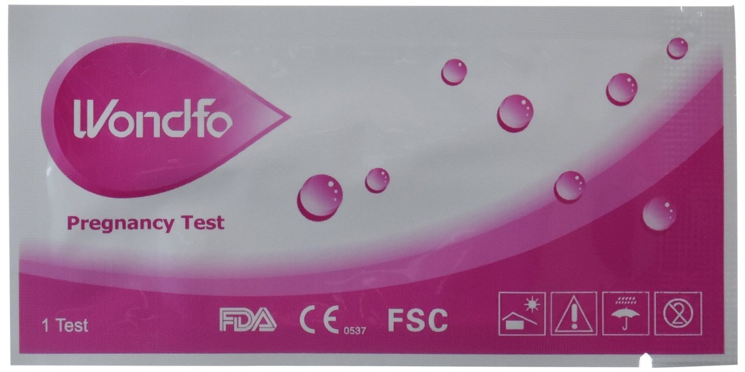 Wondfo Pregnancy Test Strips (25 Strips with Tote)
