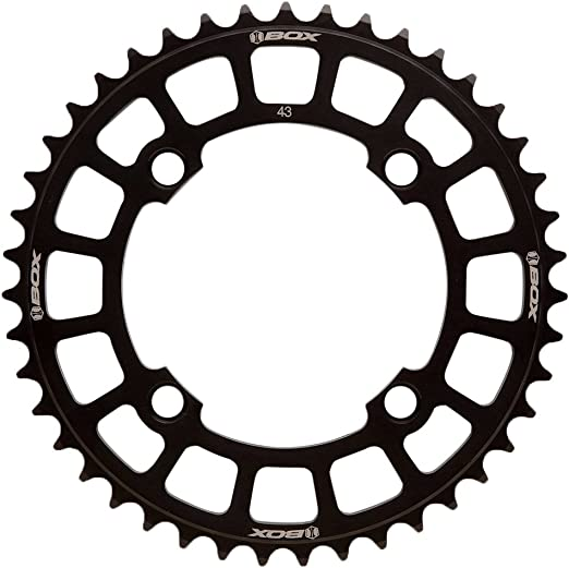 BOX One Chainring 7075 Hardcoat 44T Black