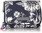 Vera Bradley Women's Midtown RFID Card Case, Midnight Floral, One Size