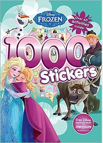 905b790250 1000 Stickers  Disney Frozen  Parragon Books Ltd  9781474821247   Amazon.com  Books