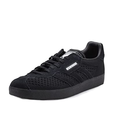 adidas Mens Gazelle Super NBHD Neighborhood Black Fabric Size 7.5