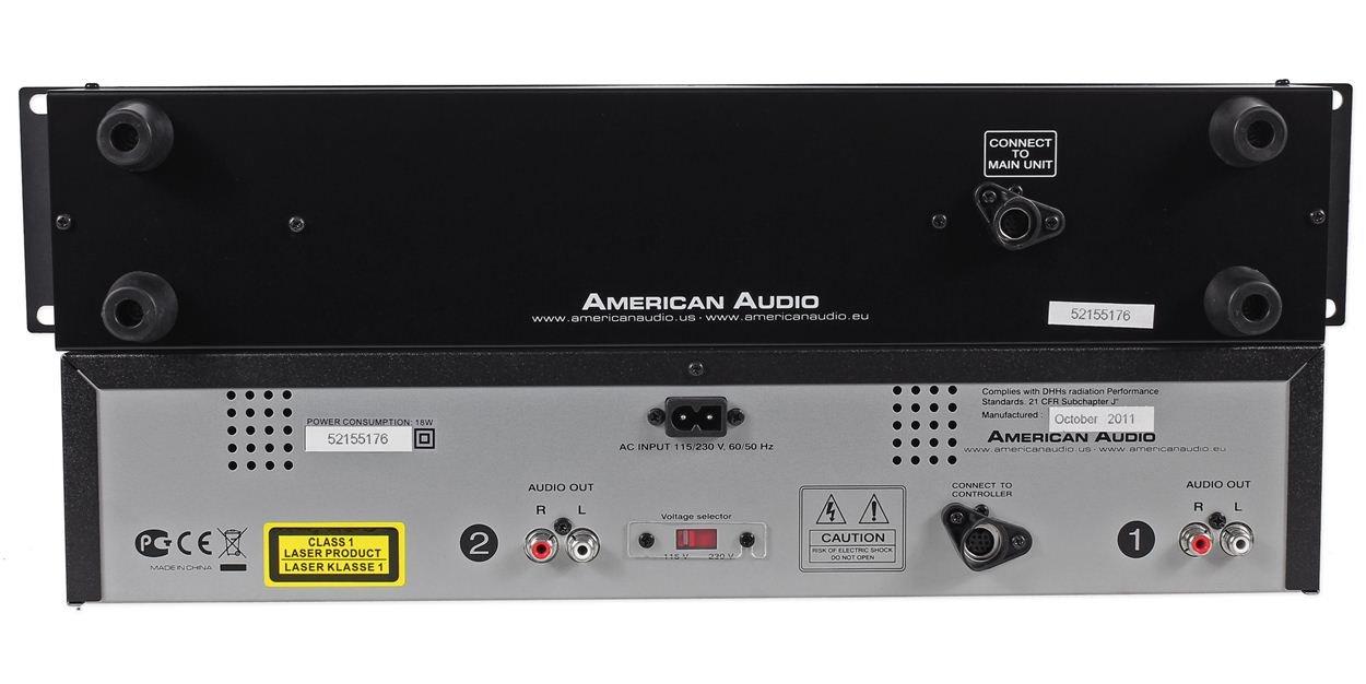 Amazon.com: American Audio dcd-pro-310-mkii doble ...