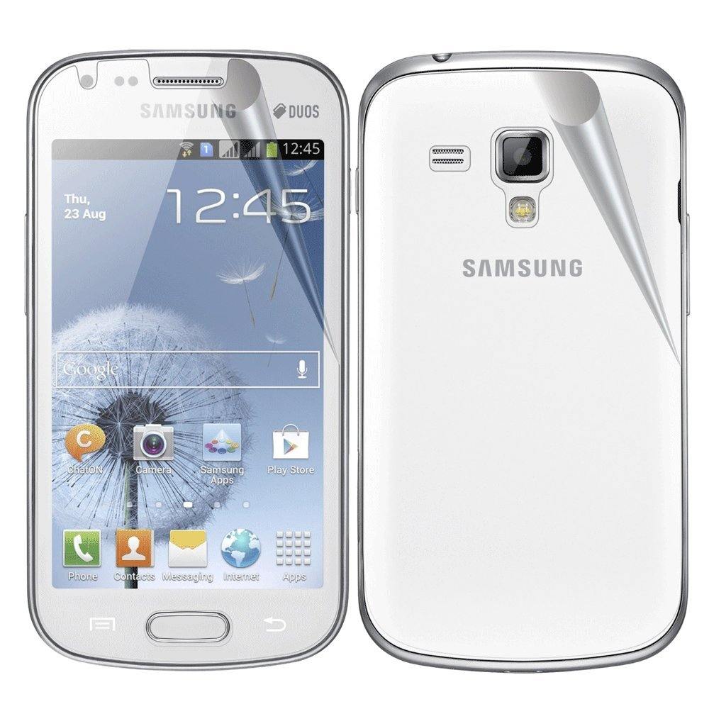 Samsung galaxy s duos s7562 full phone specifications - Amazon Com Samsung Galaxy S Duos S7562 Xtremeguard Full Body Screen Protector Front Back Ultra Clear Cell Phones Accessories