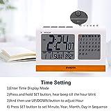 EVISTR Digital Clock Large Display - Desk Clock