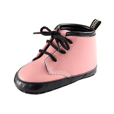 kingko® Hiver bébé unisexe garçon fille Enfant Martin Boot Berceau chaud Chaussures Sneakers