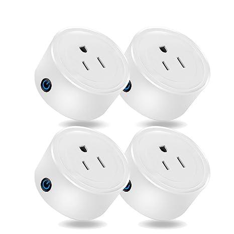 Martin Jerry Mini Smart Plug compatible con Alexa y Google Home, Smart Home Devices,