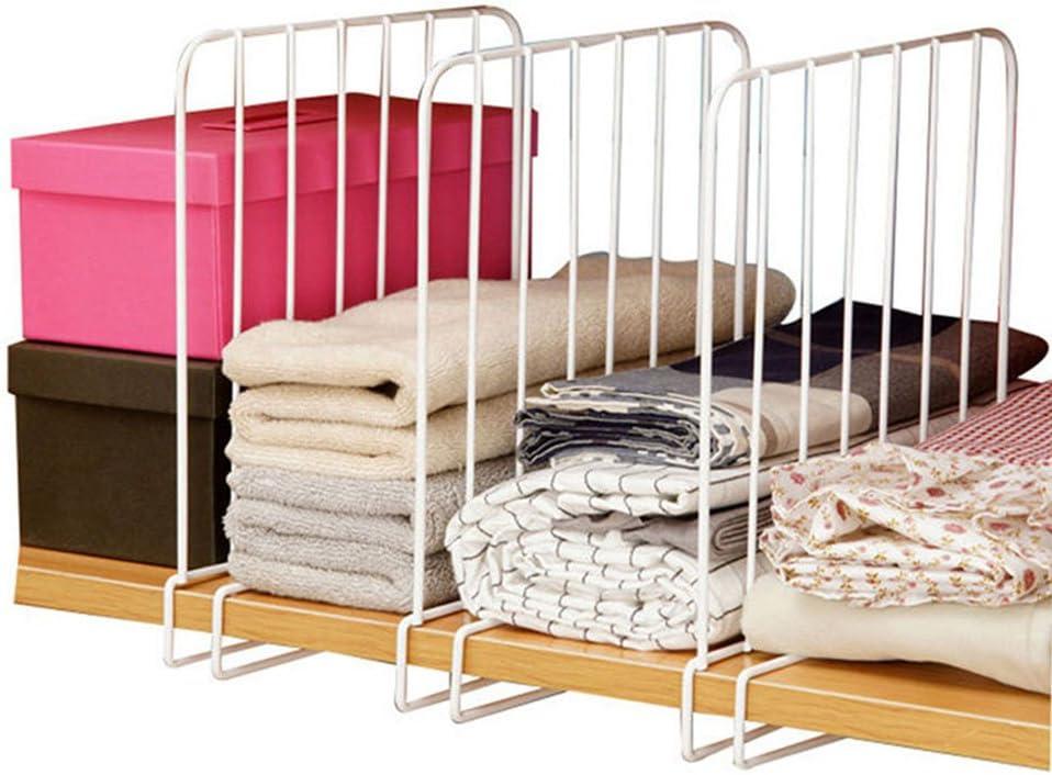 Closet Shelf Clothes Divider Organizer Wardrobe Partition
