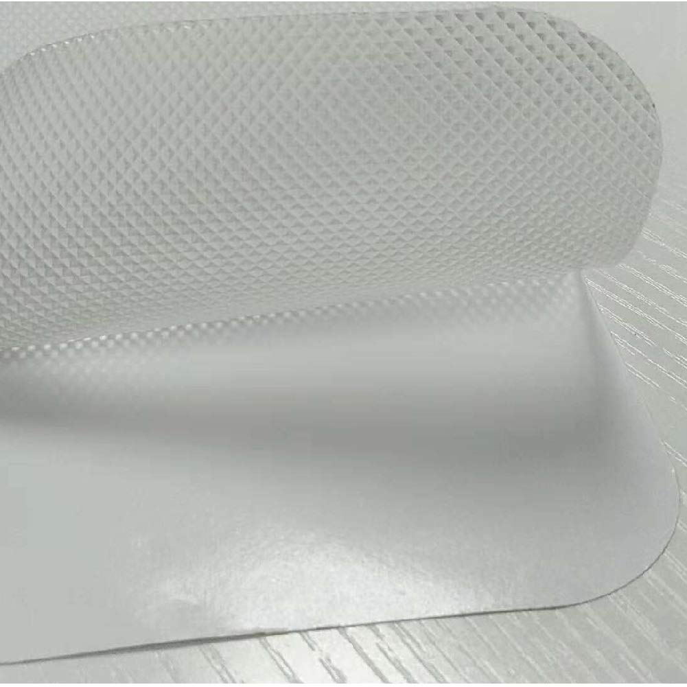 PVC Zengest Anti Slip Tape Clear Non Slip Stair Treads Indoor Pre Cut 24 x 4 in Safety for Kids and Elders Waterproof